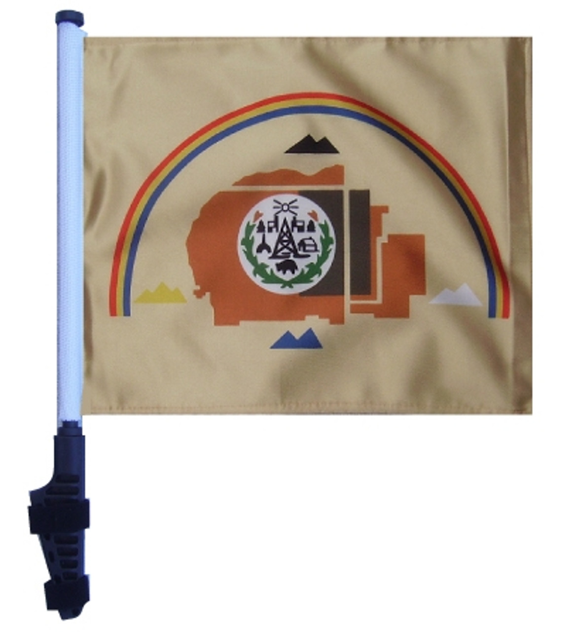 Navajo Nation 11x15 Inch Golf Cart Flag With Pole By Ssp Flags