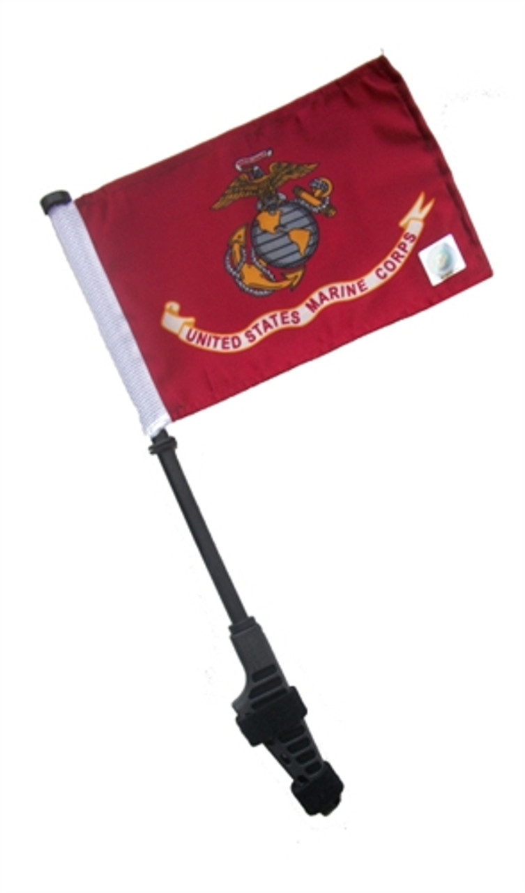 Army Small 6x9 inch Golf Cart Flag with EZ On/Off Pole