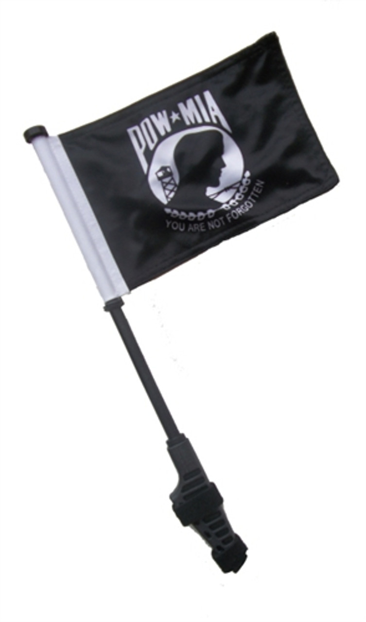 Navy Small 6x9 inch Golf Cart Flag with EZ On/Off Pole