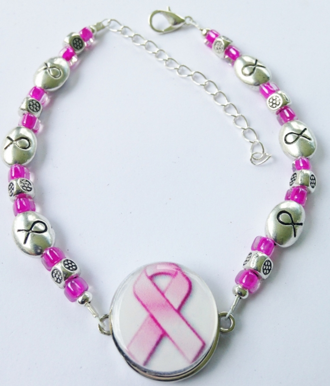 new concept bf284 1a48c One Putt Designs - Breast Cancer Awareness Ribbon Ball Marker Ankle Bracelet