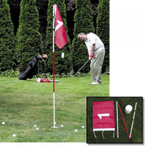 Backyard Flagstick and Pole and Cup Kit