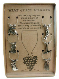 Golf Theme - Wine Charm Set J13101