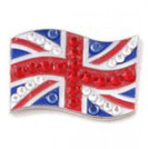 Bonjoc: Ball Marker & Hat Clip - United Kingdom Flag