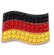 Bonjoc: Ball Marker & Hat Clip - Germany Flag