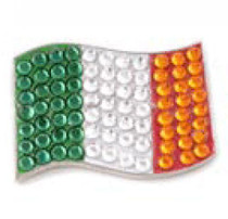 Bonjoc: Ball Marker & Hat Clip - Ireland Flag