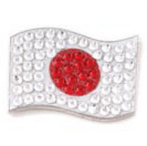 Bonjoc: Ball Marker & Hat Clip - Japan Flag