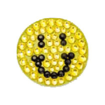 Bonjoc: Ball Marker & Hat Clip - Happy Face