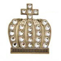 Bonjoc: Ball Marker & Hat Clip - Crown