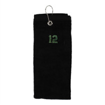 Dolly Mama: Tri-Fold Golf Towel - 12th WoMan