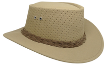 Aussie Chiller Outback Bushie Perforated Hat - Blonde