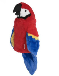 Daphne's HeadCovers: Parrot Golf Club Cover
