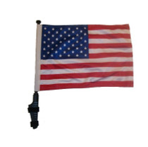 SSP Flags: 11x15 inch Golf Cart Flag with Pole - USA