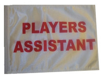 SSP Flags: 11x15 inch Golf Cart Replacement Flag - Players Assistant