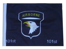 SSP Flags: 11x15 inch Golf Cart Replacement Flag - 101st Airborne