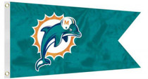 Bag Boy: NFL Pennant 12' x 18' Golf Cart Flag - Miami Dolphins
