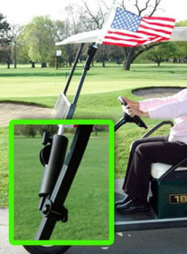 Bag Boy: NFL Pennant 12' x 18' Golf Cart Flag - Philadelphia Eagles