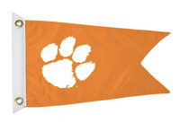 Bag Boy: Collegiate 12' x 18' Golf Cart Flag - Clemson Tigers