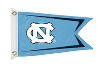 Bag Boy:  Collegiate 12' x 18' Golf Cart Flag - North Carolina Tar Heels