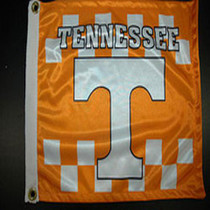 Bag Boy: Collegiate 12' x 18' Golf Cart Flag - Tennessee Volunteers
