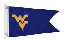 Bag Boy: Collegiate 12' x 18' Golf Cart Flag - West Virginia Mountaineers
