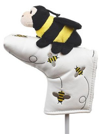 Creative Covers: Putter Pal Bee Putter Cover