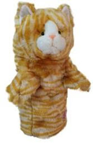 Daphne's HeadCovers: Calico Tabby Cat Golf Club Cover