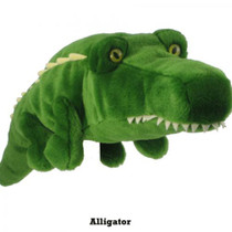Daphne's HeadCovers: Plush Alligator with Teeth Golf Club Cover