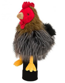 Daphne's HeadCovers: Brown Chicken / Rooster Golf Club Cover