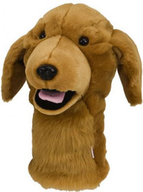 Daphne's HeadCovers: Golden Retriever Dog Golf Club Cover