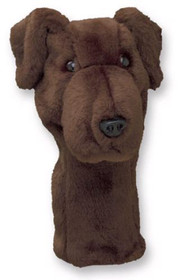 Daphne's HeadCovers: Chocolate  Lab / Labrador Dog Golf Club Cover