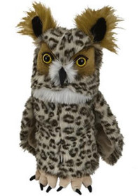Daphne's HeadCovers: Owl Golf Club Cover