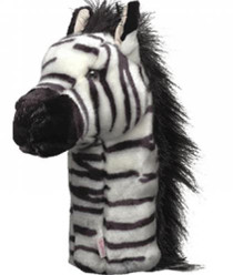 Daphne's HeadCovers: Zebra Golf Club Cover