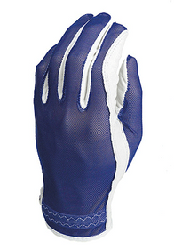 Evertan: Women's Tan Through Golf Glove - Cool Blue