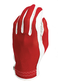 Evertan: Women's Tan Through Golf Glove - Red Hot