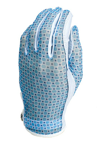 Evertan: Women's Tan Through Golf Glove - Blue Ice