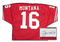 Superstar Greetings: Joe Montana Signed Authentic San Francisco 49ers Jersey- JM-AJ4R
