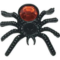 ReadyGolf: 3D Black Widow Spider Ball Marker & Hat Clip