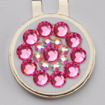 Blingo Ball Markers: Pink on White