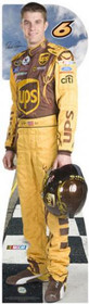 Team Image: Miniature Cardboard Cutout - David Ragan #6