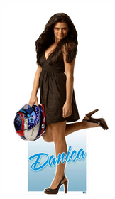 Team Image: Miniature Cardboard Cutout - Danica Patrick In Dress