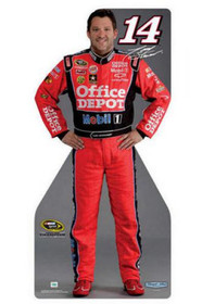 Team Image: Miniature Cardboard Cutout - Tony Stewart #14 Sprint Champion