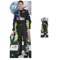 Team Image: Lifesize & Miniature Cardboard Cutout Combo - Carl Edwards #99 Aflac