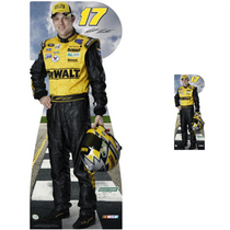 Team Image: Lifesize & Miniature Cardboard Cutout Combo - Matt Kenseth #17