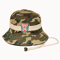 Carl Spackler Camo Bucket Hat with Bushwood Logo