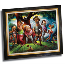 David O'Keefe: Bushwood - Tribute to Caddyshack Print
