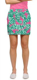Loudmouth Golf Womens Skort - Banana Beach