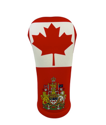 BeeJos: Golf Head Cover - Canadian Flag