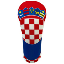 BeeJos: Golf Head Cover - Flag of Croatia
