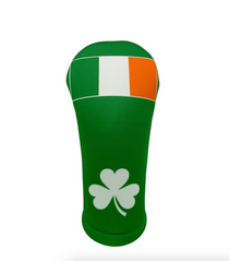 BeeJos: Golf Head Cover - Flag of Ireland (Green)