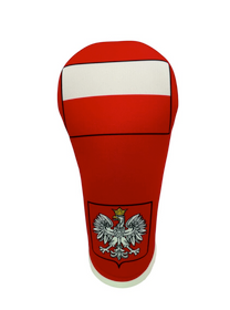 BeeJos: Golf Head Cover - Flag of Poland